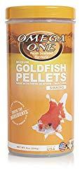 Omega one goldfish pellets best goldfish food