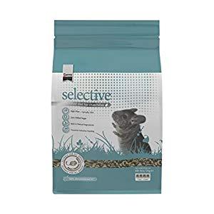 Supreme selective best chinchilla food