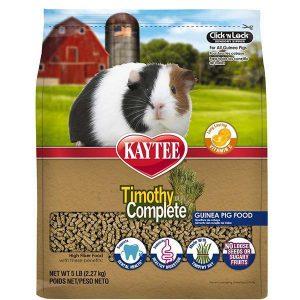 Kaytee Timothy Complete Guinea Pig Food Best Guinea Pig Food