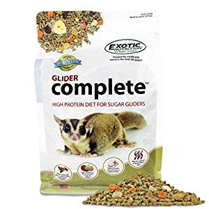 Exotic Nutrition Glider Complete Diet