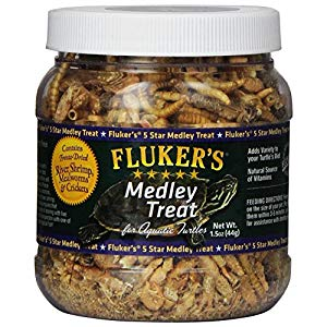 Fluker's medley treat food for turtle