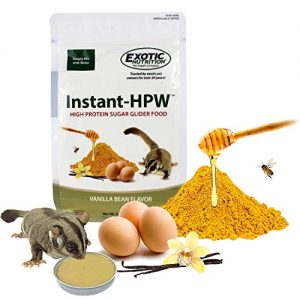 Exotic Nutrition Instant-HPW High Protein Sugar Glider Food