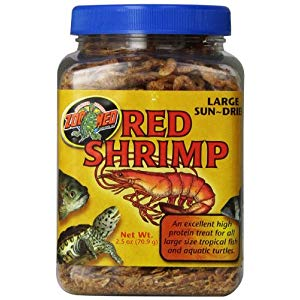 Zoo Med Sun-Dried Large Red Shrimp