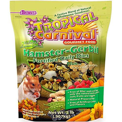 F.M. Brown's Tropical Carnival Natural Hamster Gerbil Food (best hamster food brand)