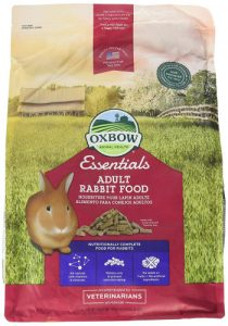 Oxbow Animal Health Bunny Basics Essentials best rabbit food