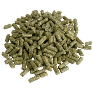Rabbits food pellets